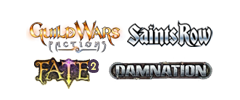 GuildWars, Saints Row, Fate 2, Damnation, Area51 : Blacksite, WWII Weapons